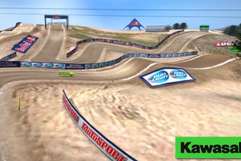 Hangtown Animated Track Map