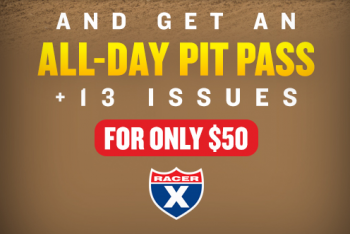 All-day Pit Passes at Glen Helen