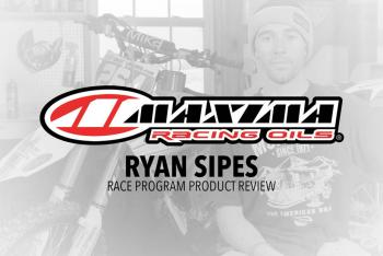 Ryan Sipes and Maxima Racing Oils