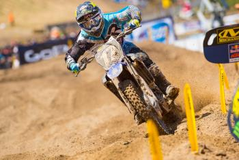 Cooper Webb Out for Glen Helen