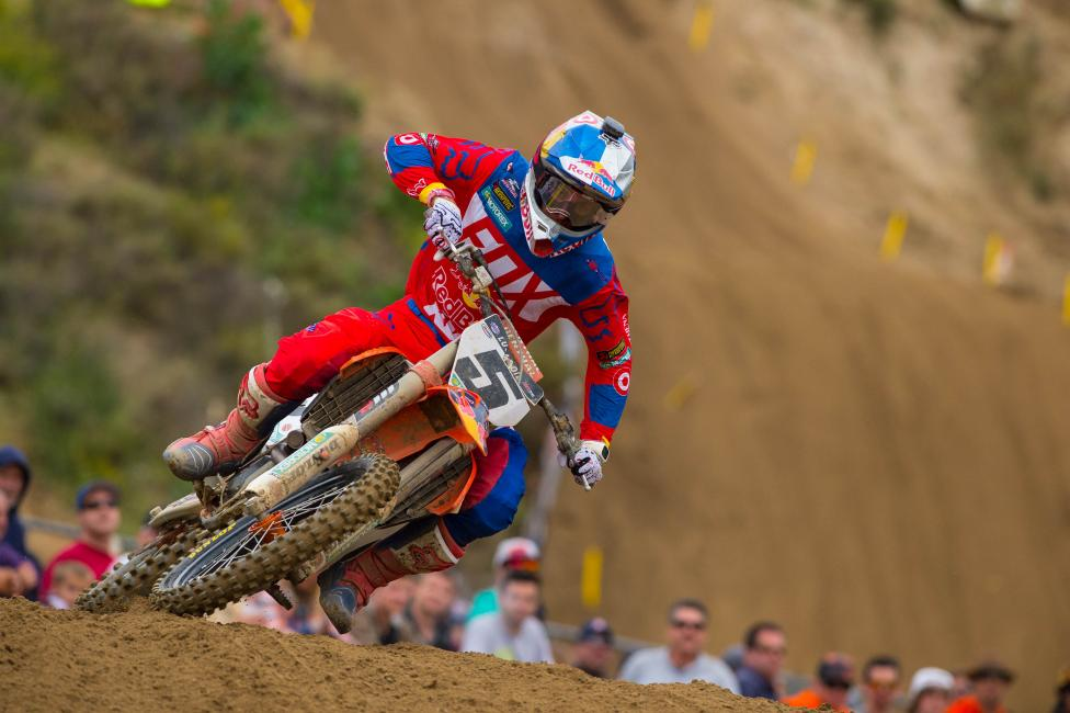 How will Dungey do against the powerful Eli Tomac in his home state?Photo: Cudby