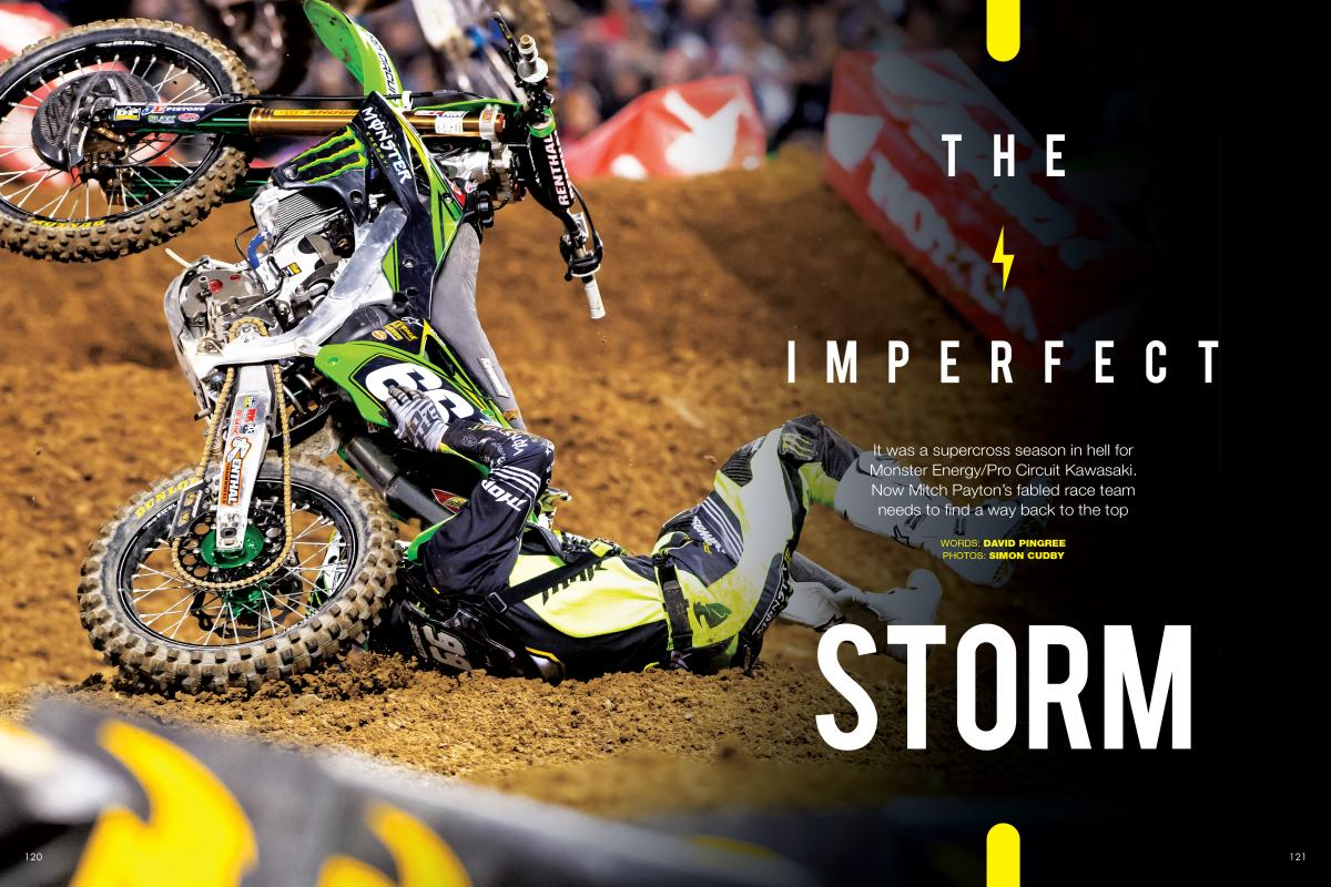 Mitch Payton's Pro Circuit Kawasaki team, once the favorite for almost every 125/250-class championship going, is three years into an unprecedented dry spell. PAGE 120