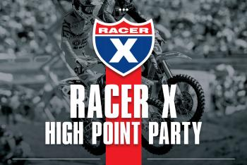 Racer X High Point Party
