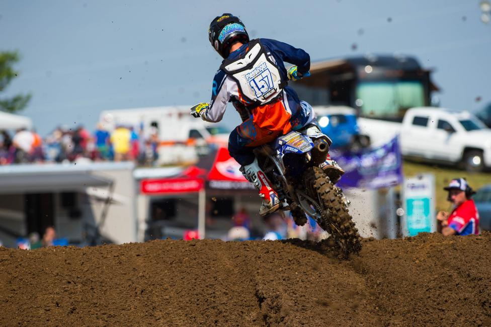 Plessinger led his first laps last weekend. Photo: Cudby