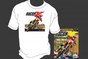 Subscribe Now and Get an Eli Tomac Cover T-shirt