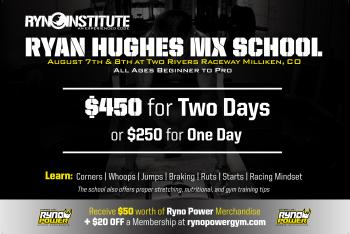Ryan Hughes MX School Coming to Colorado
