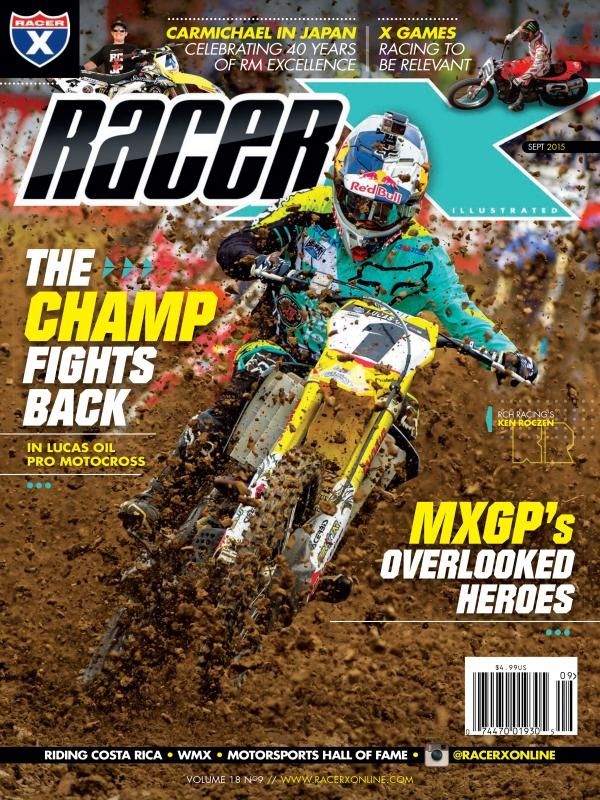 The September 2015 Issue - Racer X Illustrated Motocross Magazine