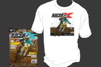 Subscribe now and Get a Ken Roczen T-Shirt