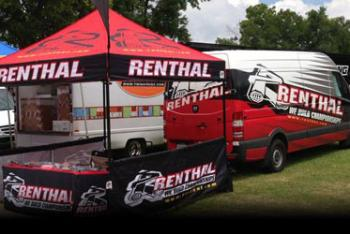 Renthal Support on Location at Loretta Lynn's