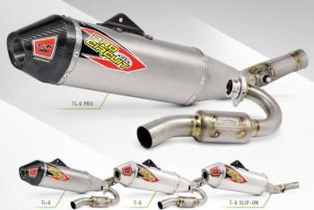 Pro Circuit Introduces 2016 KX250F Exhaust Systems