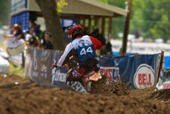 Leatt on Site at Loretta Lynn's