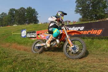 Steward Baylor Captures Win at Rattlesnake Enduro