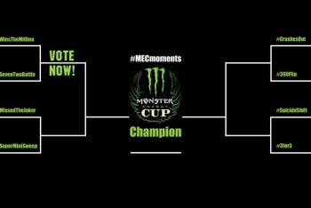 Vote for the Top Monster Energy Cup Moment