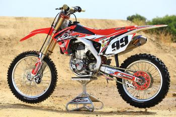 Ride Engineering CRF 450 Bike Project