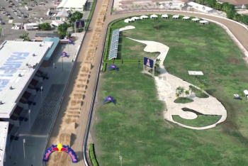 Red Bull Straight Rhythm Animated Track Map