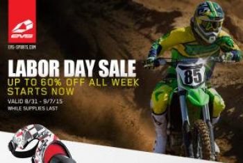 EVS Sports Labor Day Sale