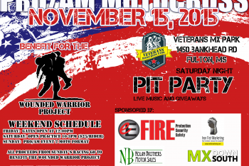 Vet MX Park: Benefit for the Wounded Warrior Project