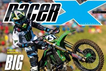 Racer X November 2015 Digital Edition Now Available