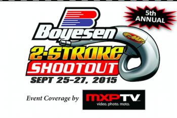 Two-Stroke Shootout at Sleepy Hollow MX
