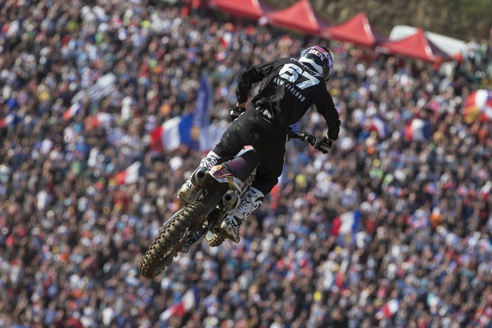 Townley went 6-2 at the Motocross of Nations.