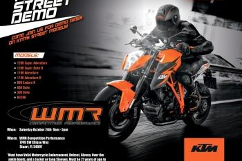KTM to Appear at WMR Competition Performance
