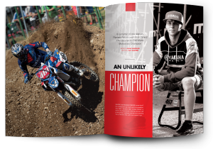 Last year, Romain Febvre was an also-ran on the Grand Prix circuit. Now he's your new FIM World Motocross Champion.