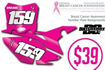 BikeGraphix Releases Breast Cancer Awareness Number Backgrounds