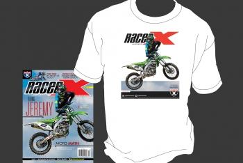 Subscribe Now and Get a Free Jeremy McGrath T-Shirt