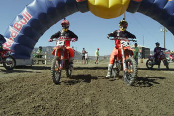Nelson and McElrath Rip Straight Rhythm Ride Day