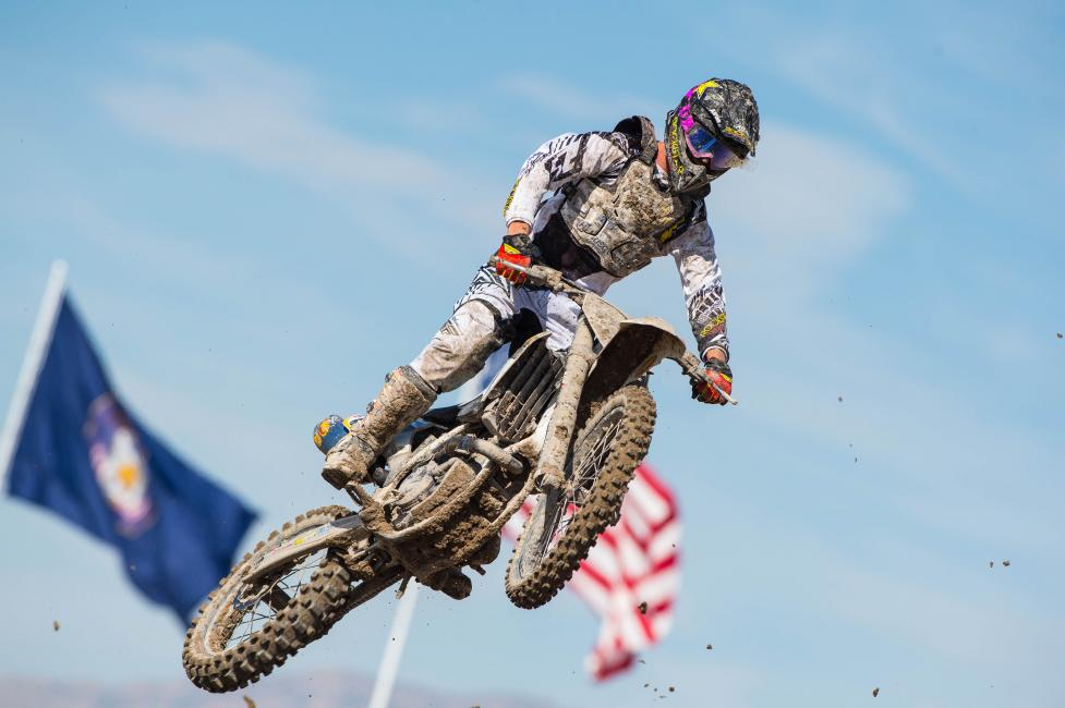 Pourcel will race his first supercross-style race on the 450 this weekend.