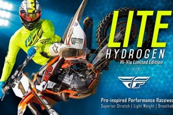 Fly Racing Lite Hydrogen Limited Edition Hi-Vis Racewear