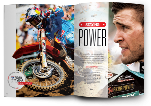 A decade after his instant journey from obscurity to the limelight, Ryan Dungey is at the top of his game. He's also the 2015 Racer X Rider of the Year.