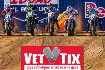 VetTix to Offer Free Admission to Veterans at Lucas Oil Pro Motocross