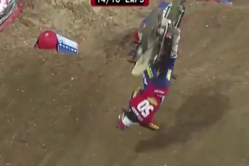 Watch: The Stewarts and Webb's Crash at Bercy-Lille