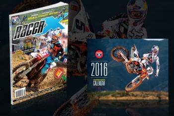 Get a Free 2016 Racer X Calendar When You Subscribe or Renew Now