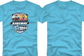 Carlsbad Raceway Commemorative T-shirts Available
