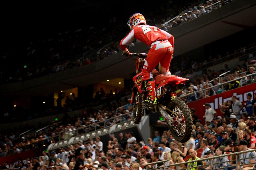 Jackson Richardson finished second behind Decotis in SX2.