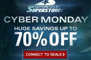 Cyber Monday at Motorcycle Superstore.com
