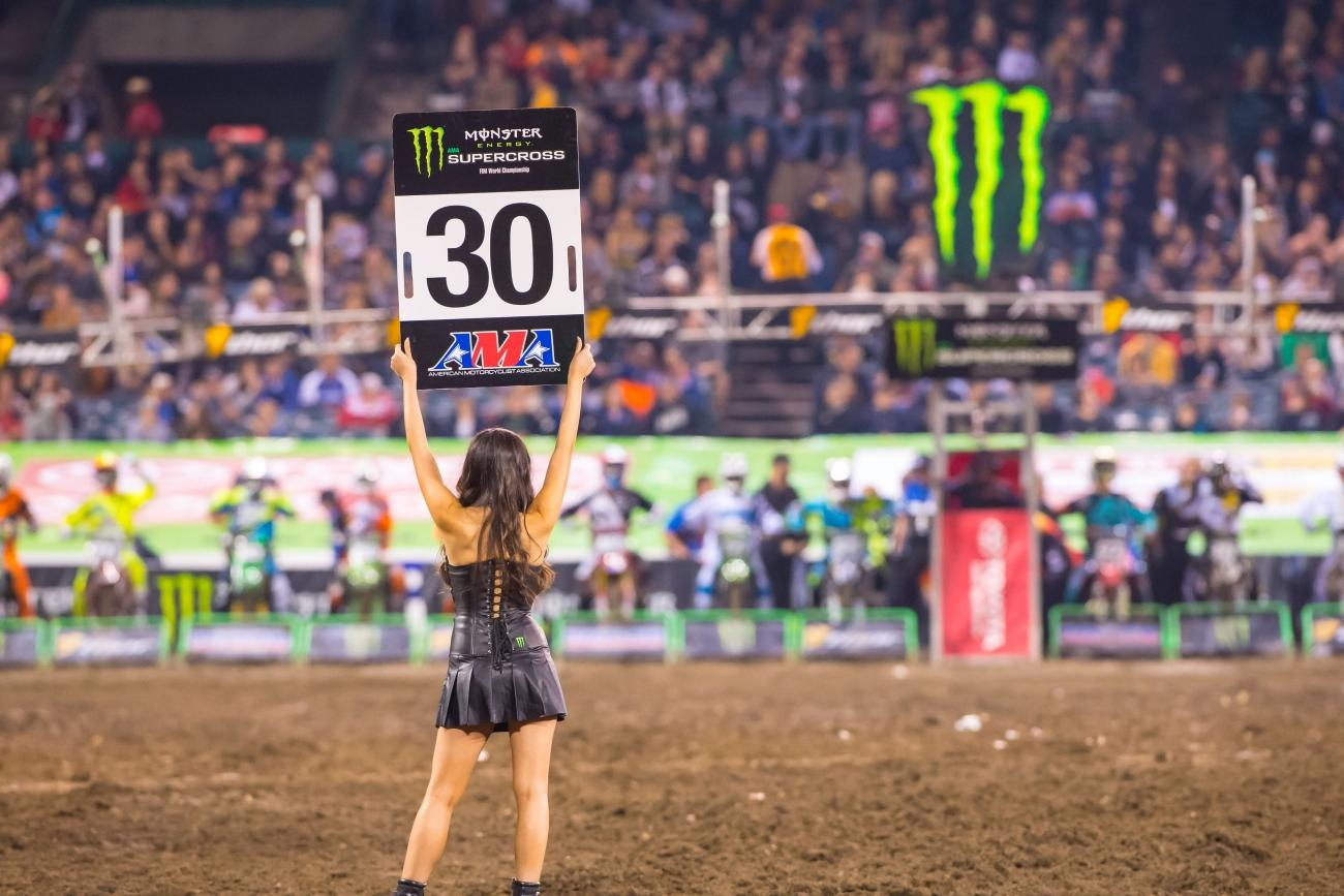 2016 Monster Energy Supercross TV Schedule Announced