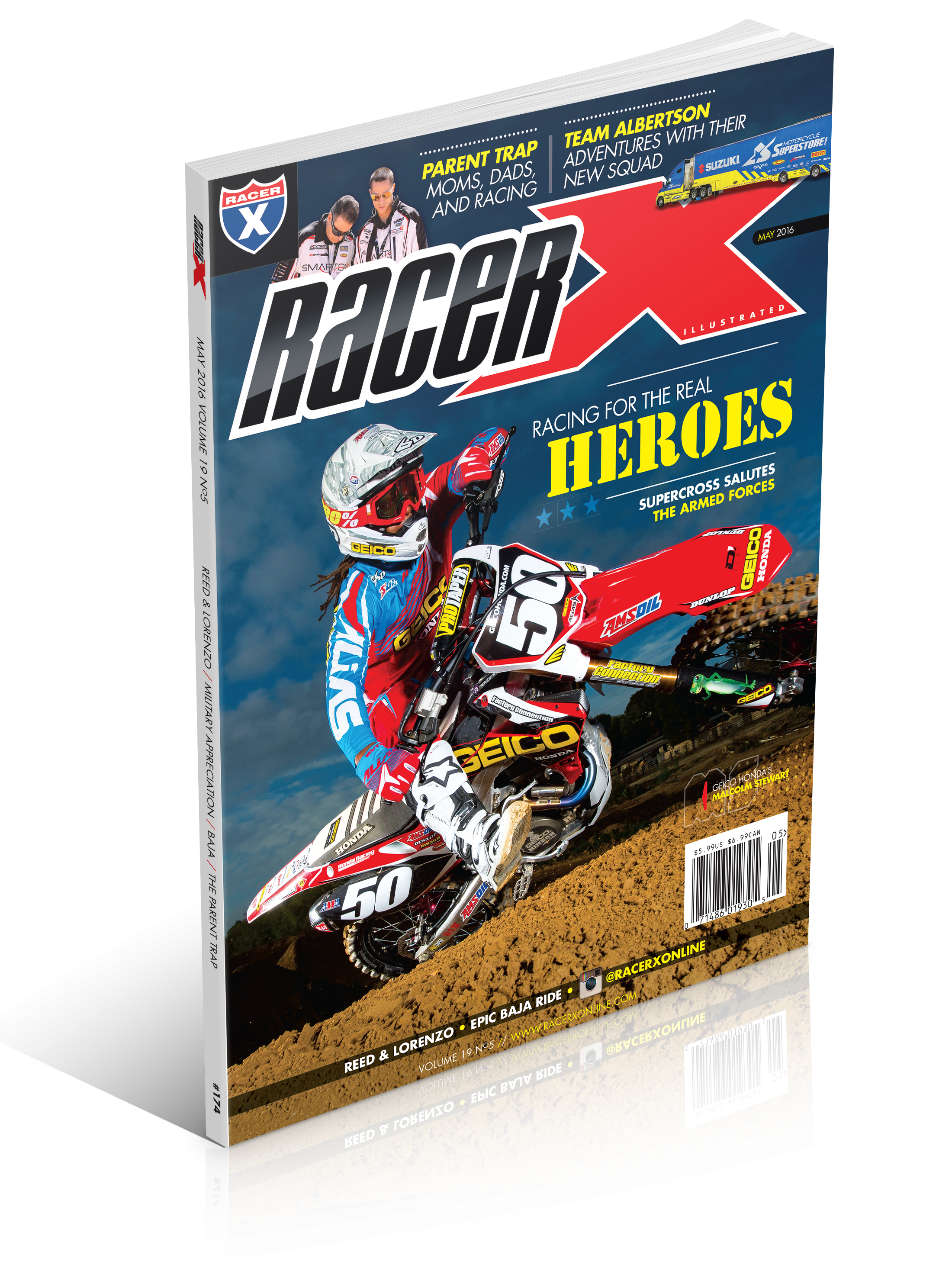 The May 2016 Issue - Racer X Illustrated Supercross Magazine