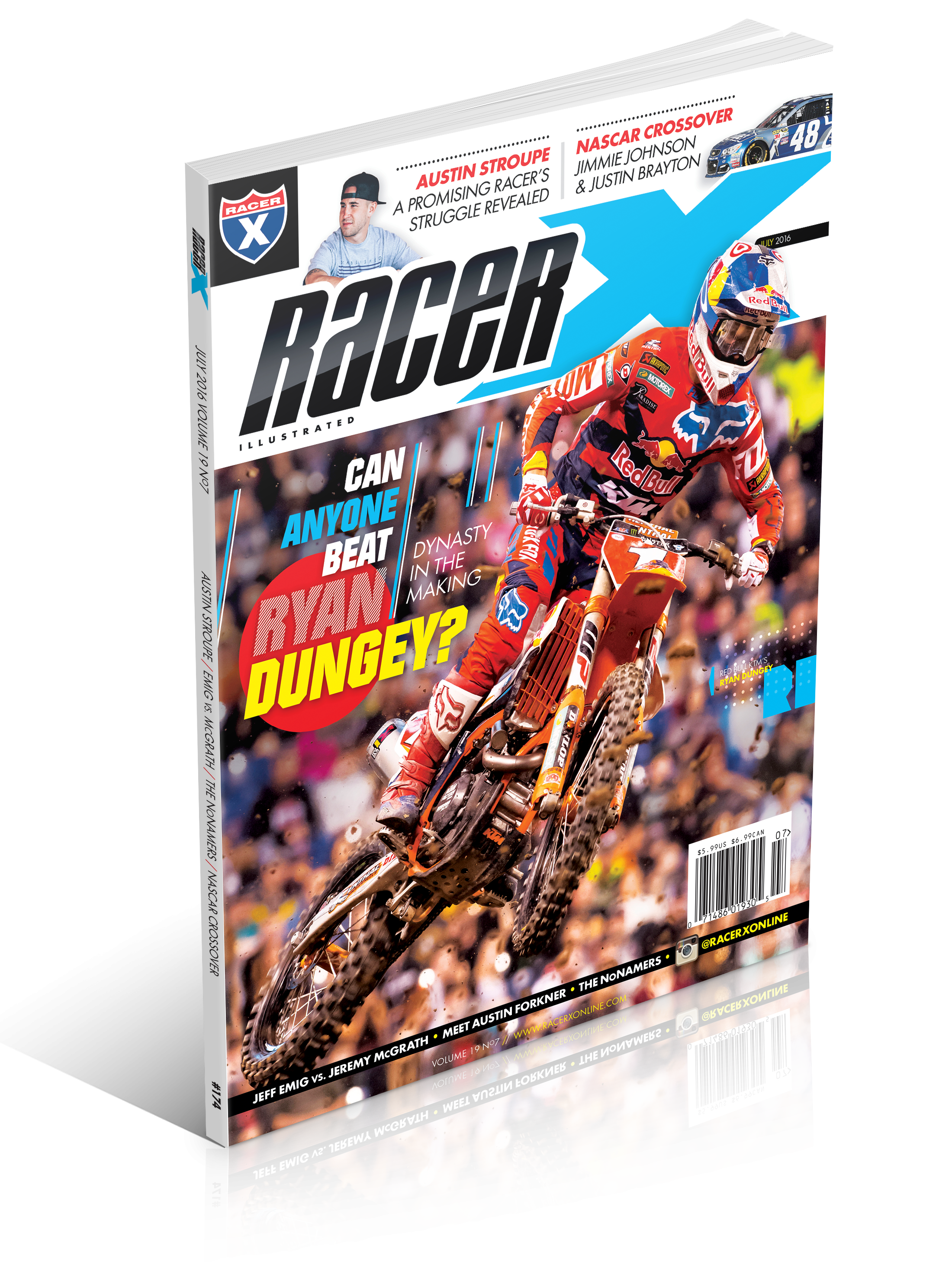 The July 2016 Issue - Racer X Illustrated Motocross Magazine