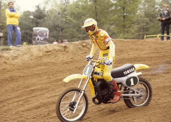 Bob Hannah kept rolling right into 1979 on his Yamahas, winning another AMA Supercross title as well as another AMA Motocross title.