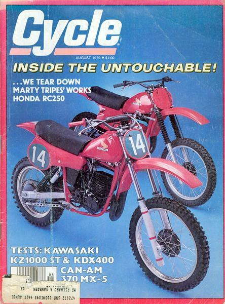 Marty Tripes' works Honda was claimed by a privateer and then tore down by a magazine.