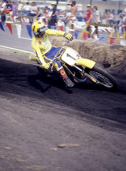 "Mark ""The Bomber"" Barnett would win his third consecutive 125 outdoor title in 1982 and just miss out on the supercross championship as well."