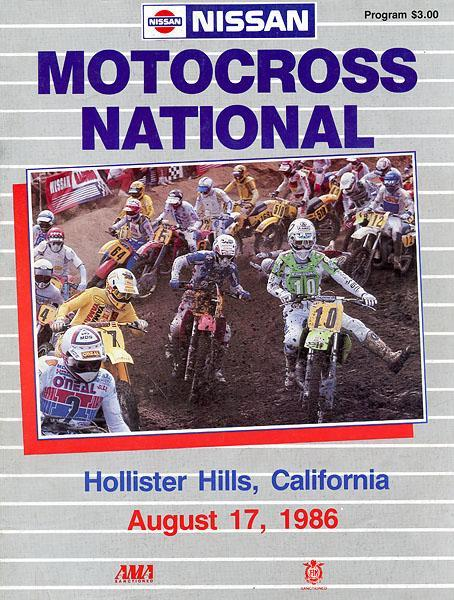 Hollister California hosted a 125/500 national in '86.