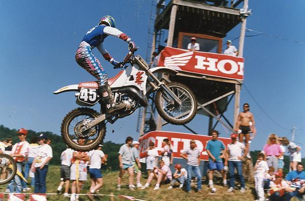 Damon Bradshaw was the most ballyhooed rookie of '89, but it was another rookie who won the 125 National title.