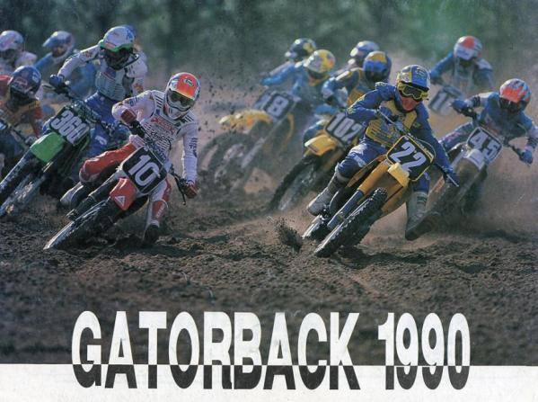 Souvenir program for the 1990 AMA National MX opener.