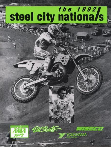 Jeff Ward won the next-to-last National of his illustrious career, taking the Steel City 500 National.