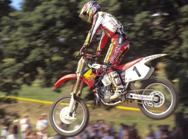 Jeremy McGrath was a dominant force in AMA Supercross, and he very nearly won the AMA Motocross title again in '96.