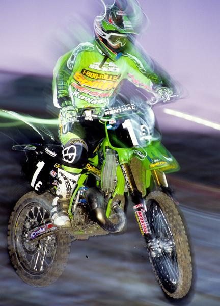 Ricky Carmichael was perfect in the 125 East Region, and then won his second outdoor title in 1998.